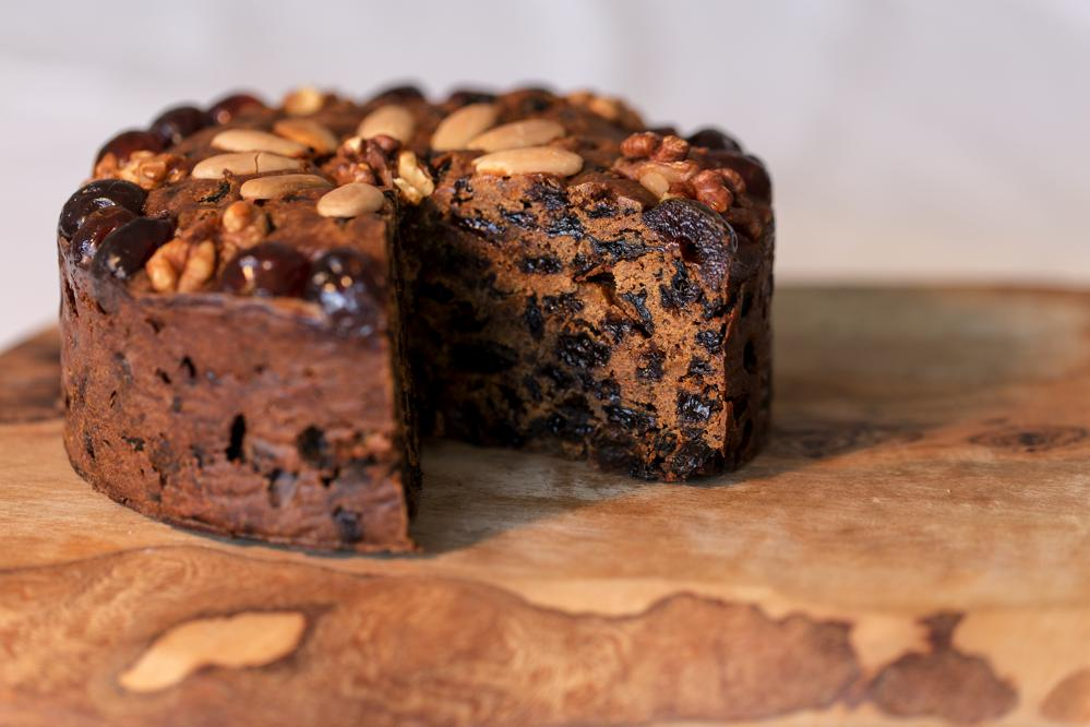 Decorated Rich Fruit Cake Mrs Gills Country Cakes